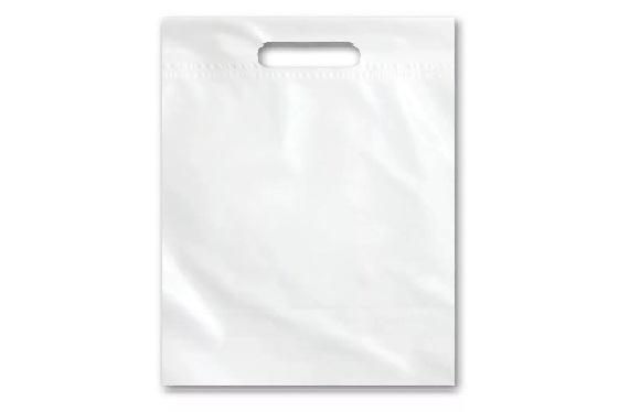 Крафт пакеты с ручками без логотипа
